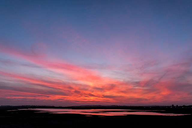 DSC_1784  Sunset at Rye Harbour