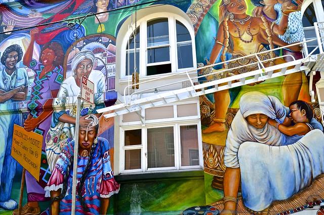 La casa de las Mujeres, Mission, San Francisco