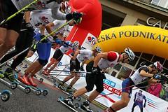 SKI Street Liberec 2014 - exhibice na kolečkových lyžích