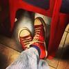 Sapatos vermelho #converse #sapatos #vermelho #gelateriaitalia #saopaulo