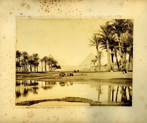 Caire, Pyramides de Gizeh