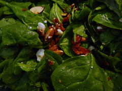Spinach Salad in Victoria, BC