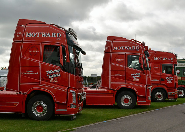 Motward Ltd - Volvo FH13 Globetrotter XL 540, Volvo FH13 Globetrotter XL 500 & Scania R560 V8 Topline