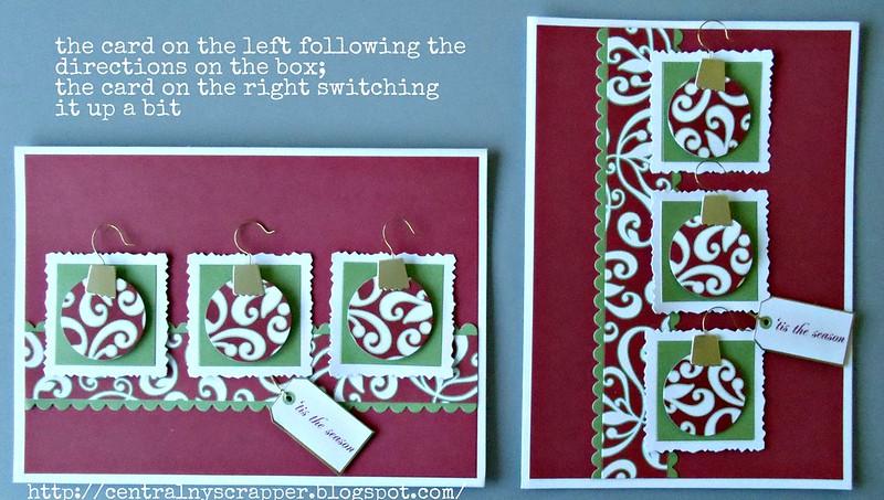 ornament card Holiday Card Kit 01