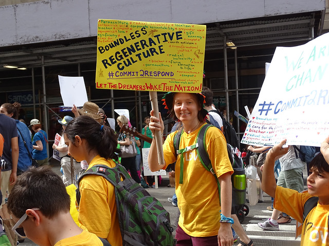 #PeoplesClimate: Faith Contingent & Unitarian Universalists