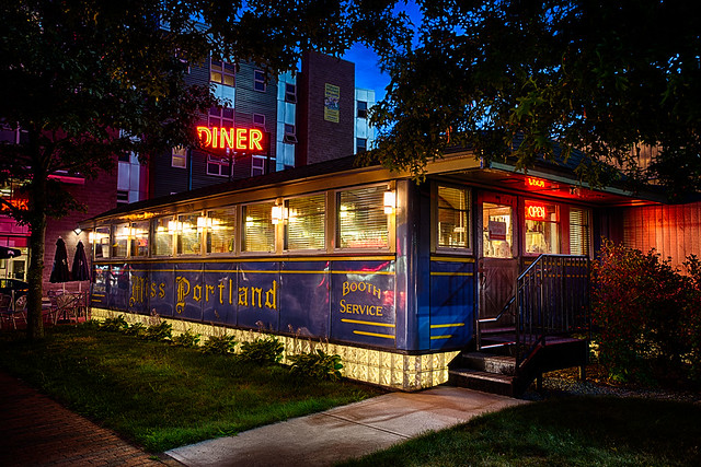 Miss Portland Diner - 140 Marginal Way, Portland, Maine U.S.A. - September 5, 2014