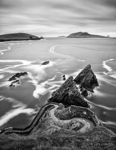 longexposure ireland irish water clouds landscape pier blackwhite nikon rocks dingle eire kerry lee filters dunquin dinglepeninsula d610 2470 irishlandscape bigstopper