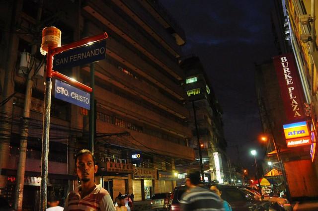 San Fernando cor. Sto. Cristo Streets, Binondo