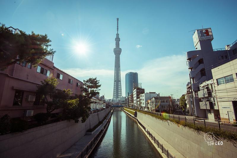 [東京 押上]–晴空塔散策–晴空塔的四周,最佳拍攝景點