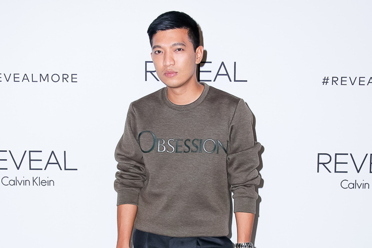 Fashion blogger Bryanboy at the Calvin Klein Reveal launch