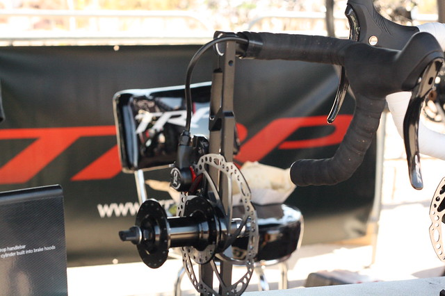 interbike 2014 trp hydraulic road brakes