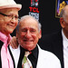 13 Mel Brooks and Carl Reiner with Norman Lear by Paul Zollo