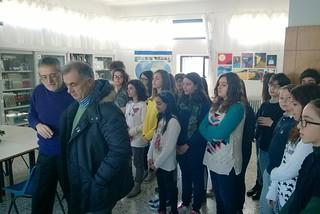 Noicattaro. Srudenti scuola Pascoli front