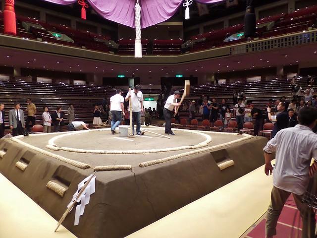 Sumo Ring Being Resurfaced