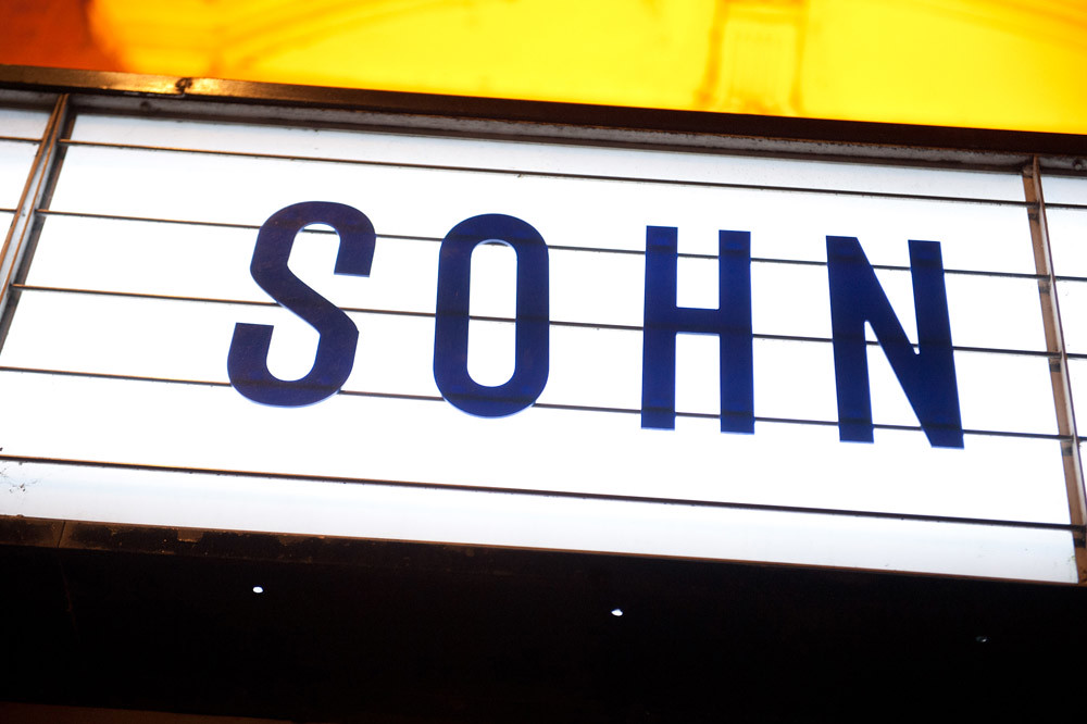 SOHN @ Shepherd's Bush, London 12/09/14