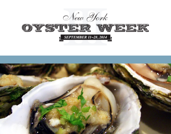 New York Oyster Week 2014