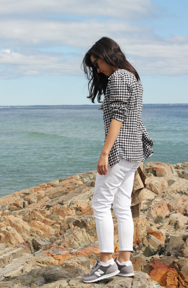 casual travel outfit, old navy style, austin style blog