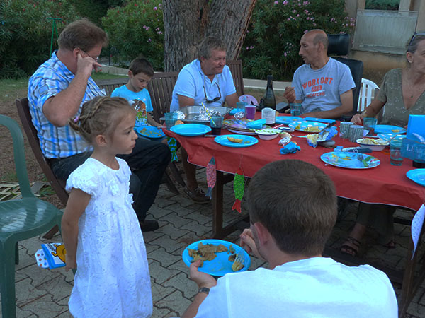 repas CRL sardines