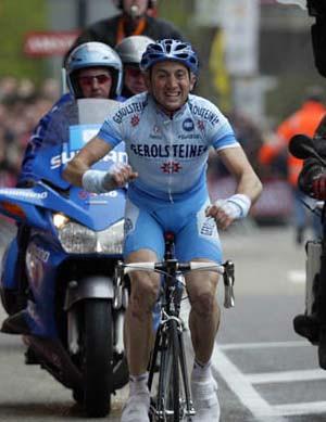 Amstel 2004 - Vittoria di Rebellin
