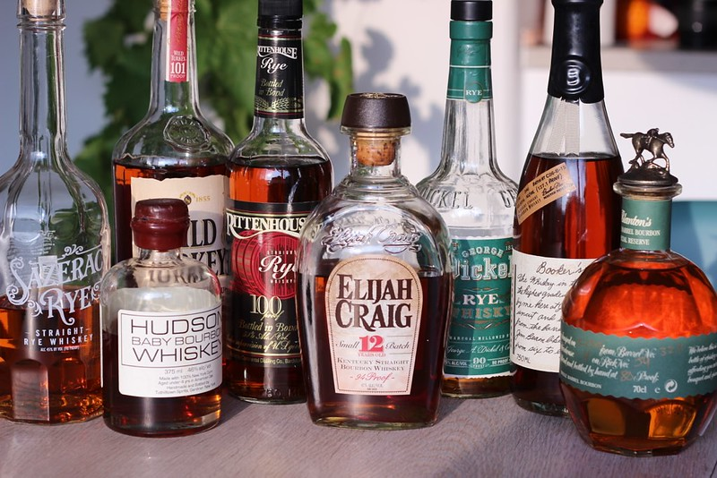 House Bourbons and Ryes