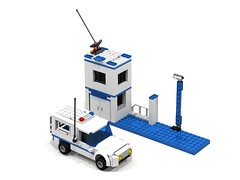 Prisoner Transporter and Police Station