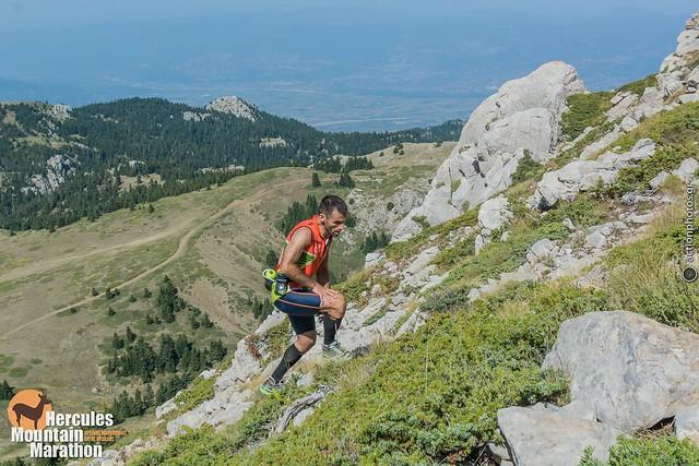 Φάνης Αρκουμάνης. Εντυπωσιακή θέα αλλά και ... δυσκολία στην τελευταία ανάβαση για Γρεβενό (2.114μ).