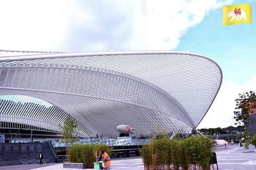 entonnoir_org a posté une photo:Gare de Guillemin, Liège, Arnaud Ferrante