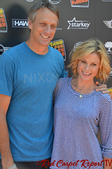 Tony Hawk & Julie Bowen - DSC_0137