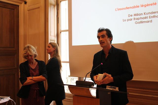 Raphaël Enthoven - Grand Prix du livre audio 2015