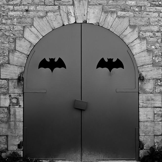 Batman's home in Dijon...
