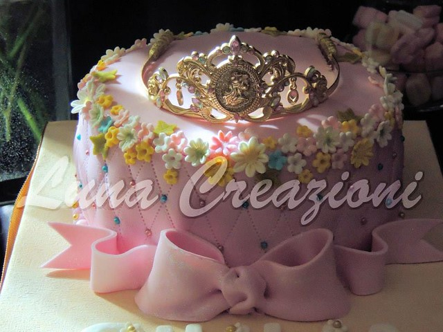 Princess Cake by Lorena Marrelli of Luna Creazioni – Artistic Cakes