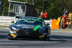 Team HTP Mercedes AMG GT GT3 Blancpain Sprint Series Brands Hatch 2016 Sportscar Racing News