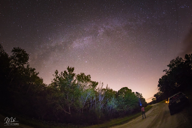 Milky Way seen from Central Florida