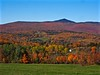 Wilmington, Vermont in Autumn