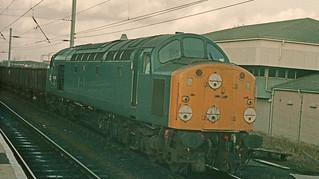 40057 Warrington Bank Quay 9th February 1984.