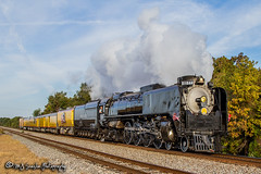 Union Pacific 844 | 4-8-4 Stream | UP Memphis Subdivision 1