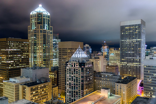 Downtown Seattle, Renaissance Hotel View