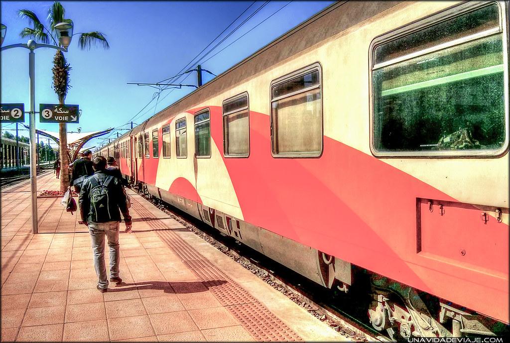 Marrakech estacion tren