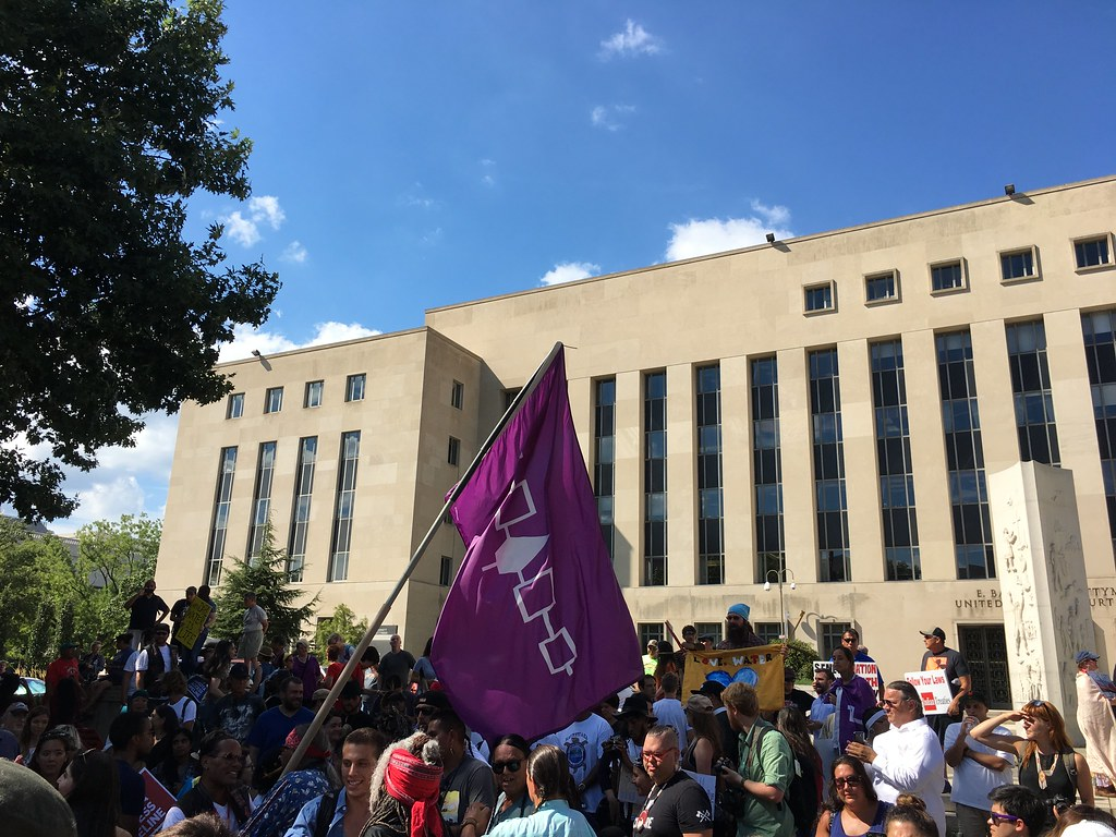 #NoDAPL Rally Federal Courthouse August 24 2016
