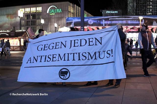 29.11.2016 Berlin: BDS Boykott-Aktion gegen HP