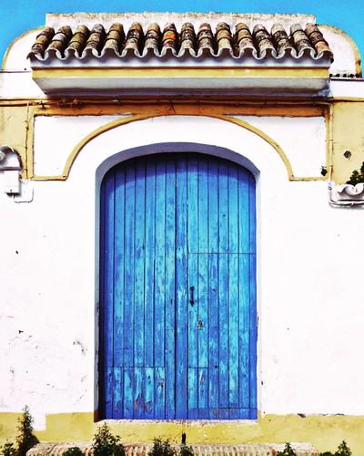 #puerta #doors #azul #almensilla #andalucía #andalusian #blue