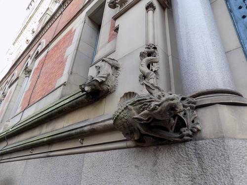 Gargoyles on Minshull Street