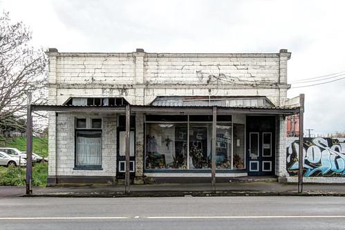 Old building (2) Main Street Etham, Taranaki, NZ