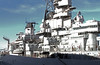 USS Wisconsin BB-64, Looking aft, on the starboard side by Ron Monroe