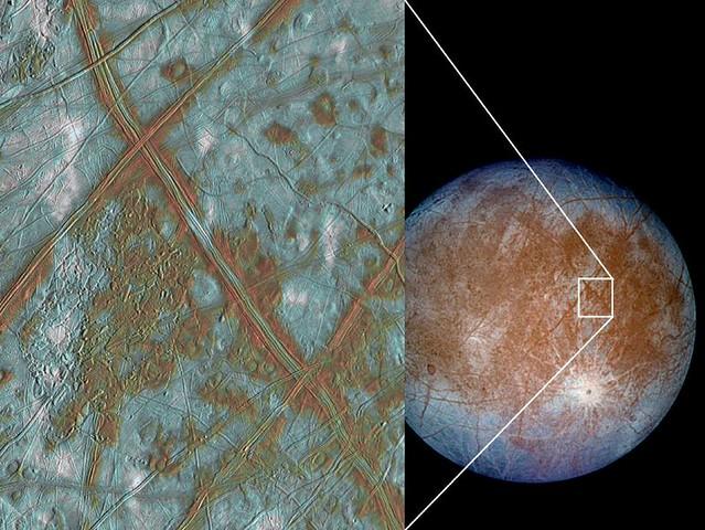 Europa Crust