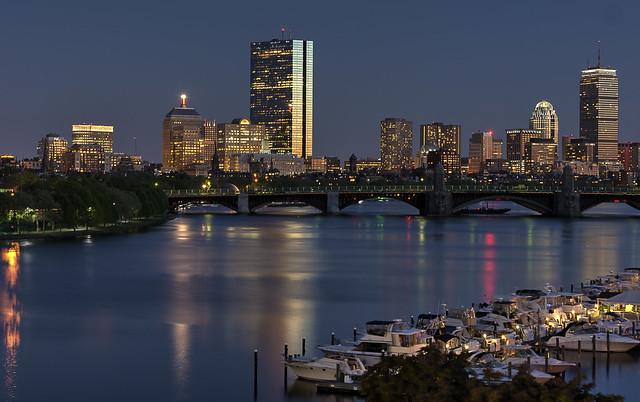 Boston Skyline by CC user billdamon on Flickr