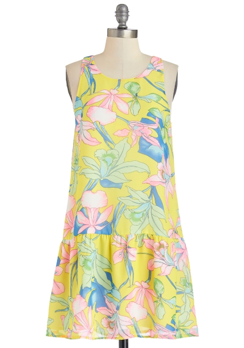 modcloth Redefine Radiance Dress