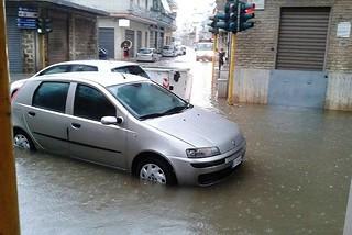 Noicattaro. Disagi maltempo 14 Giugno 2014 front