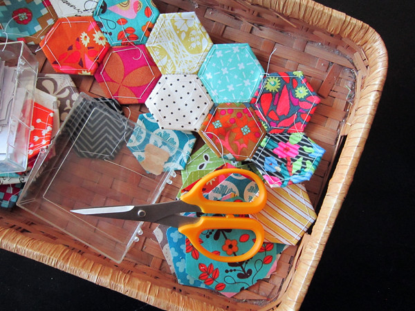 back to English paper piecing