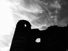 Castle of Ghosts. (Alleuze France).